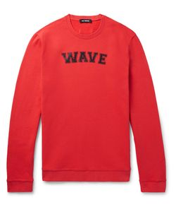 Raf Simons | Printed Fleece-Back Cotton-Jersey Sweatshirt