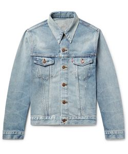 Levi'S Vintage Clothing | 1967 Type Iii Slim-Fit Contrast-Stitched Distressed Denim