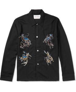 Our Legacy | Box Embroidered Wool Overshirt