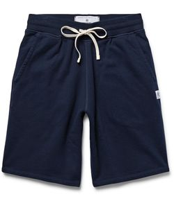 Reigning Champ | Loopback Cotton-Jersey Drawstring Shorts