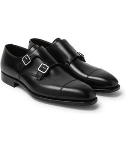 GEORGE CLEVERLEY | Thomas Leather Monk-Strap Shoes