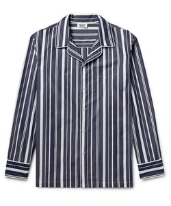 Sleepy Jones | Henry Striped Cotton Pyjama Shirt