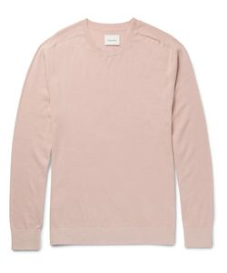 Steven Alan | Slim-Fit Cotton And Cashmere-Blend Sweater