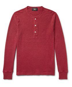 RRL | Waffle-Knit Cotton Henley T-Shirt