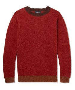 HOWLIN' | Howlin Captain Harry Contrast-Trimmed Wool Sweater