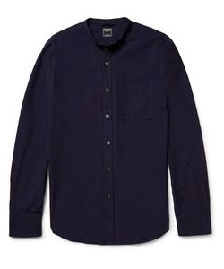 TODD SNYDER | Slim-Fit Grandad-Collar Cotton Shirt