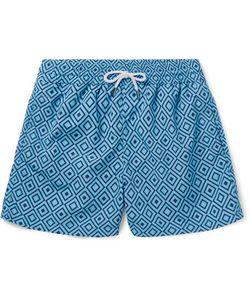FRESCOBOL CARIOCA | Angra Mid-Length Printed Swim Shorts