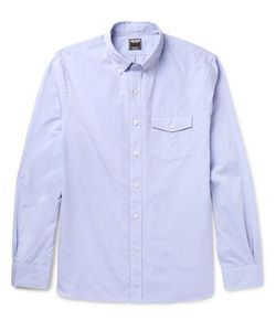 TODD SNYDER | Slim-Fit Button-Down Collar Cotton-Poplin Shirt