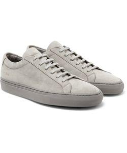 Common Projects   Original Achilles Nubuck Sneakers