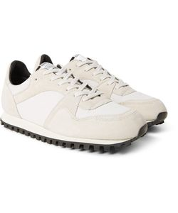 SPALWART | Marathon Trail Suede And Mesh Sneakers