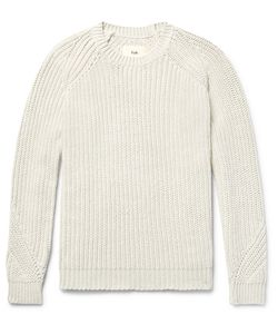 Folk | Ribbed Stretch-Cotton Sweater