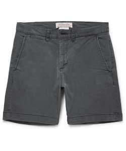 Remi Relief | Slim-Fit Cotton-Blend Twill Shorts