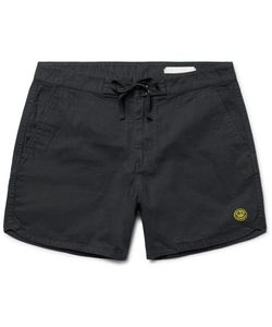 OUTERKNOWN | Happy Source Mid-Length Organic Cotton And Hemp-Blend Swim Shorts