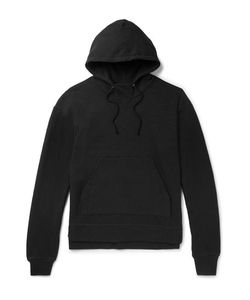 John Elliott | Kake Mock Fleece-Back Jersey Hoodie