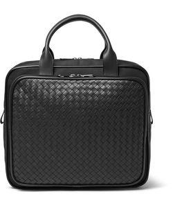 Bottega Veneta | Intrecciato Leather And Canvas Carry-On Bag