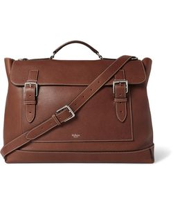 Mulberry | Full-Grain Leather Messenger Bag