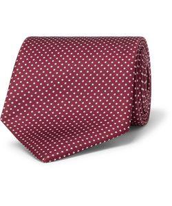 Emma Willis | 9cm Polka-Dot Silk-Twill Tie