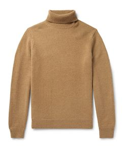 TODD SNYDER | Camel Hair Rollneck Sweater