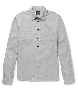The Workers Club | Slub Cotton-Blend Shirt