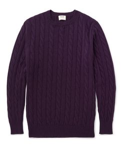 William Lockie | Orwell Cable-Knit Cashmere Sweater