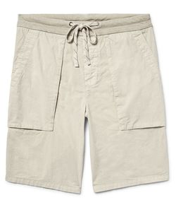 James Perse | Slim-Fit Cotton-Poplin Cargo Shorts