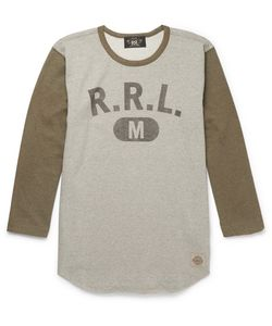 RRL | Printed Loopback Cotton-Jersey T-Shirt
