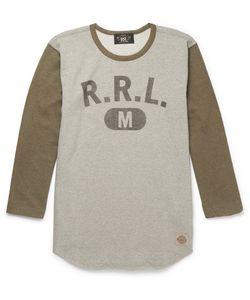 RRL | Printed Loopback Cotton-Jersey T-Shirt