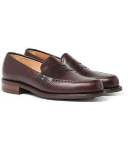 CHEANEY | Howard R Leather Penny Loafers