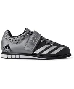 Adidas Sport | Powerlift.3 Mesh-Panelled Faux Leather Sneakers