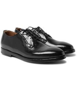 Officine Creative | Herve Polished-Leather Derby Shoes