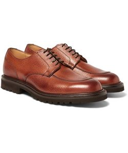 CHEANEY | Chiswick Pebble-Grain Leather Derby Shoes