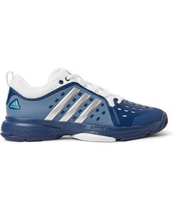 Adidas Sport | Barricade Classic Bounce Coated-Mesh Tennis Sneakers Storm