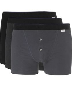 Schiesser | Ludwig Three-Pack Stretch-Cotton Boxer Briefs