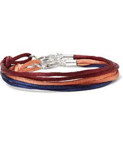 RUBINACCI | Set Of Three Silk Tone Bracelets