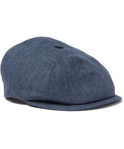 Lock & Co Hatters | Linen Flat Cap