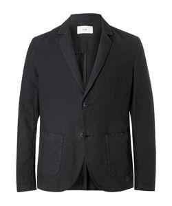 Folk | Unstructured Linen And Cotton-Blend Blazer