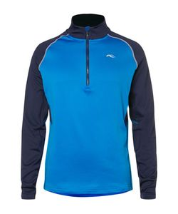 Kjus Golf | Diamond Fleece-Back Stretch-Shell Half-Zip Top