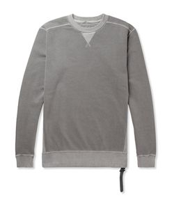 NEMEN | Fleece-Back Cotton-Jersey Sweatshirt