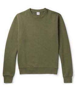 Aspesi | Garment-Dyed Loopback Cotton-Jersey Sweatshirt