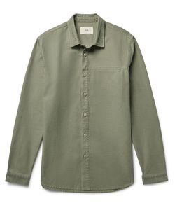 Folk | Rivet Slub Cotton Overshirt