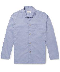 Oliver Spencer Loungewear | Cotton Oxford Pyjama Shirt