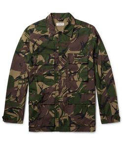 J.Crew | Camouflage-Print Cotton-Blend Field Jacket
