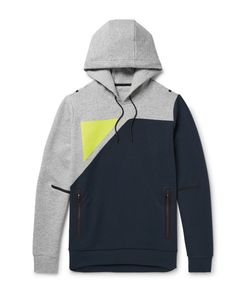 Under Armour Sportswear | Tailgate Colour-Block Water-Resistant Jersey Hoodie Midnight