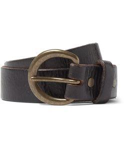 RRL | 4cm Terrance Distressed Leather Belt
