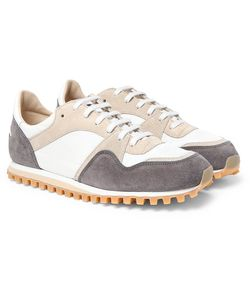 SPALWART | Marathon Trail Suede And Shell Sneakers