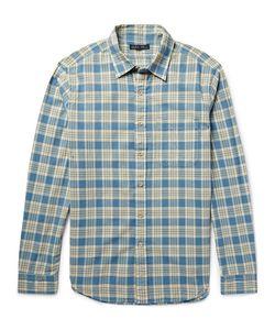 ALEX MILL   Checked Cotton Shirt