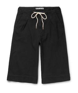 Sasquatchfabrix. | Sashiko-Stitched Cotton Shorts