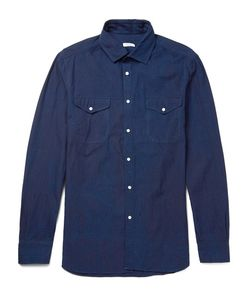 Eidos | Washed Cotton-Twill Shirt