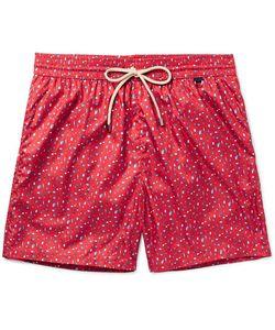 RUBINACCI | Mid-Length Printed Swim Shorts