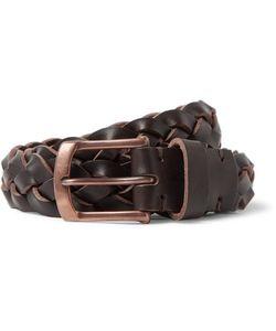 Oliver Spencer | 3cm Woven Leather Belt
